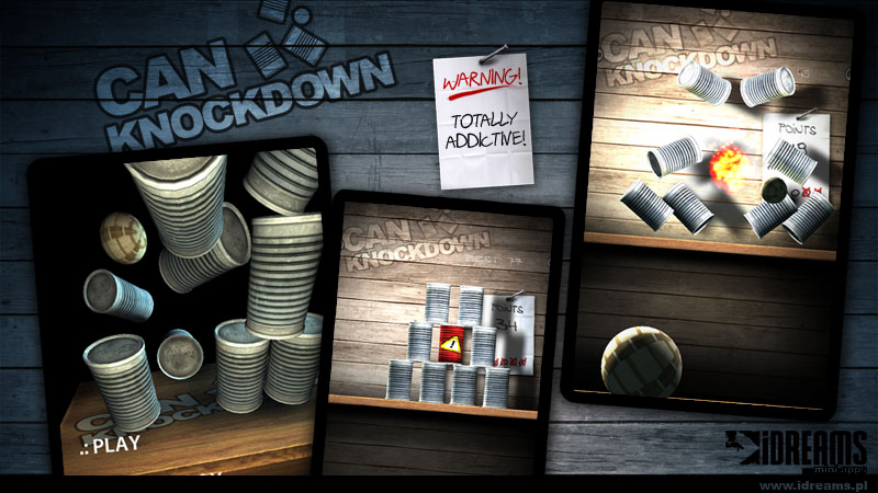 can knockdown 3 free wifi game