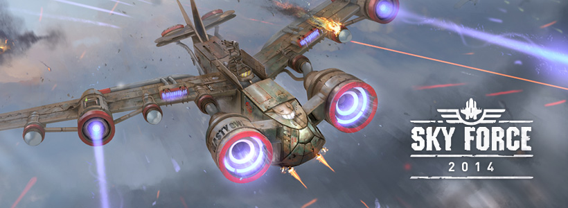 10 years celebration - Sky Force 2014 is back in super-destructive style! (Free/iOS)