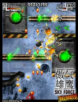 Sky Force Reloaded for S60 and Symbian ^3 by Infinite Dreams